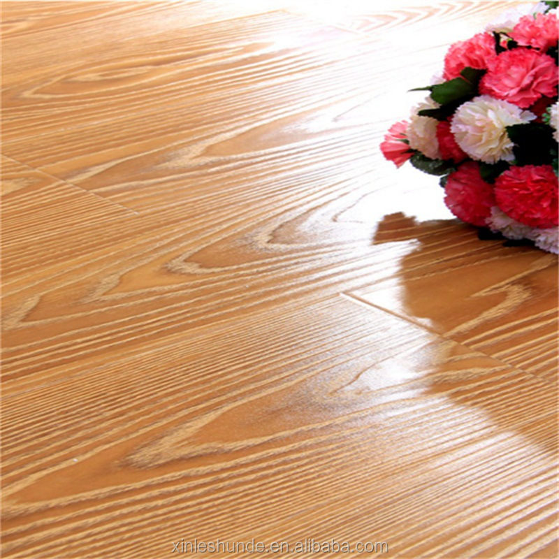 HDF AC3 AC4 Waterproof Flooring Laminate Wood Flooring 12mm