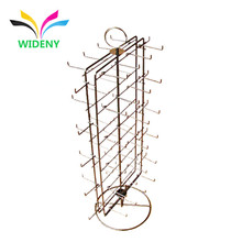 Factory used metal wire wiper blade display stand with hanging items
