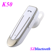 High quality K50 CSR V4.2 real stereo universal business single mini wireless earphones bluetooth