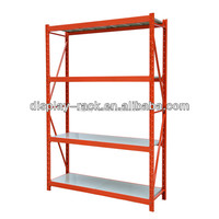 4 tiers steel pipe structure storage rack HSX-3598