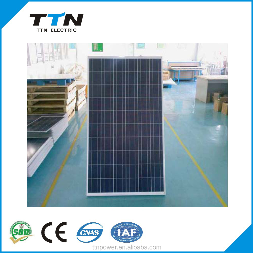 A grade high efficiency flexible 3W-300W solar panel / pv modules in stock for home use with good price per watt