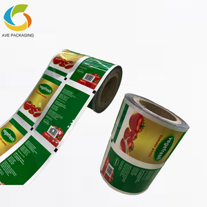 Custom Printed Full Color Laminating Food Packaging Plastic Roll Film