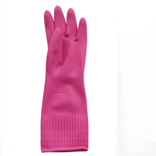 Waterproof Warming Plus Size Household Latex Glove with Wool inside