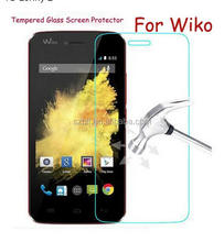 factory price 9H hardness 2.5D olephbic coating Tempered glass screen protector for all Wiko tommy