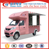 China 4x2 mini mobile fast food truck