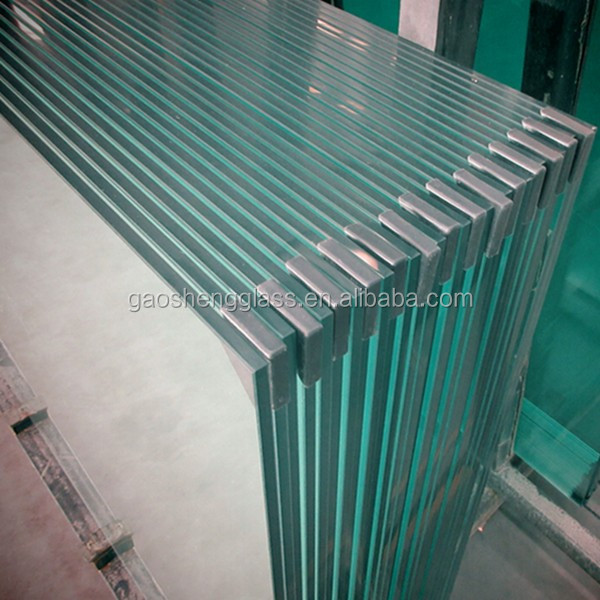 21.52MM SGP Clear Tempered Laminated Glass