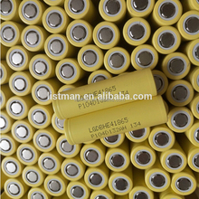 2500mah Lg he4 3.7v the li-ion 18650 battery/18650 rechargeable battery LG HE4 3.7v 2500mah 35A li-ion battery