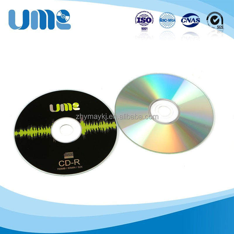 Wholesale from China UME Blank CD-R Disc 700MB 52X 120mm cd rw