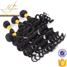 cheap human hair extension on sale virgin loose wave indian hair bundles