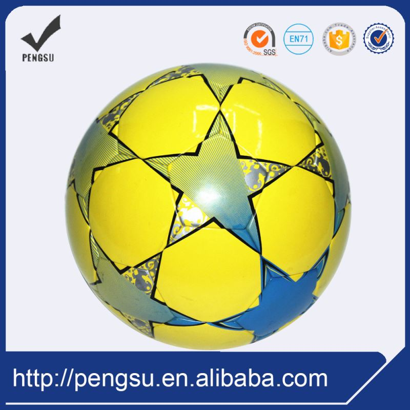 China Factor Hot Sale Results Eco Friendly Soccer Balls