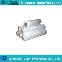 new product plastic ldpe stretch film rolls, plastic LDPE stretch film, plastic ldpe warpping stretch film