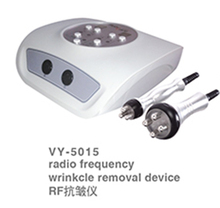 VY-5015 portable radiofrecuencia tripolar for face and body