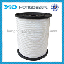8mm white nylon braided rope