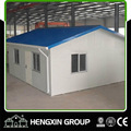 Color steel sheet sandwich panel prefabricated house for sales