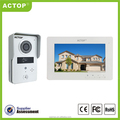 2016 Shenzhen ACTOP Security Night vision 4wire 7inch new door intercom