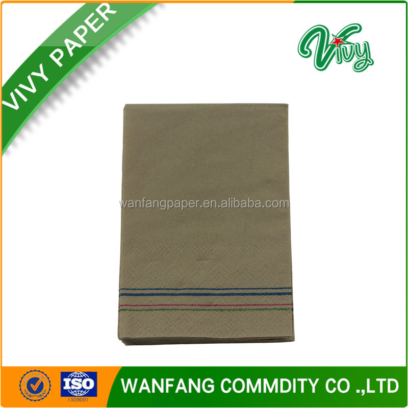 Natural color widely use 2ply hand paper towel