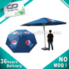 Rope and pulley system windproof garden umbrella outdoor beach umbrella 4m umbrella