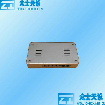 ZK-114 / 116*63*20 mm aluminum media player enclosure Electrical Power Junction Box high quality Protection Distribution Box