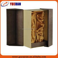 custom paper handle corrugated paper carton gift box for packaging red wine bottles