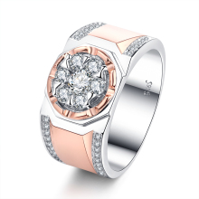 Fashion Design Turkish Gold Plated Wedding Rings Jewelry Women