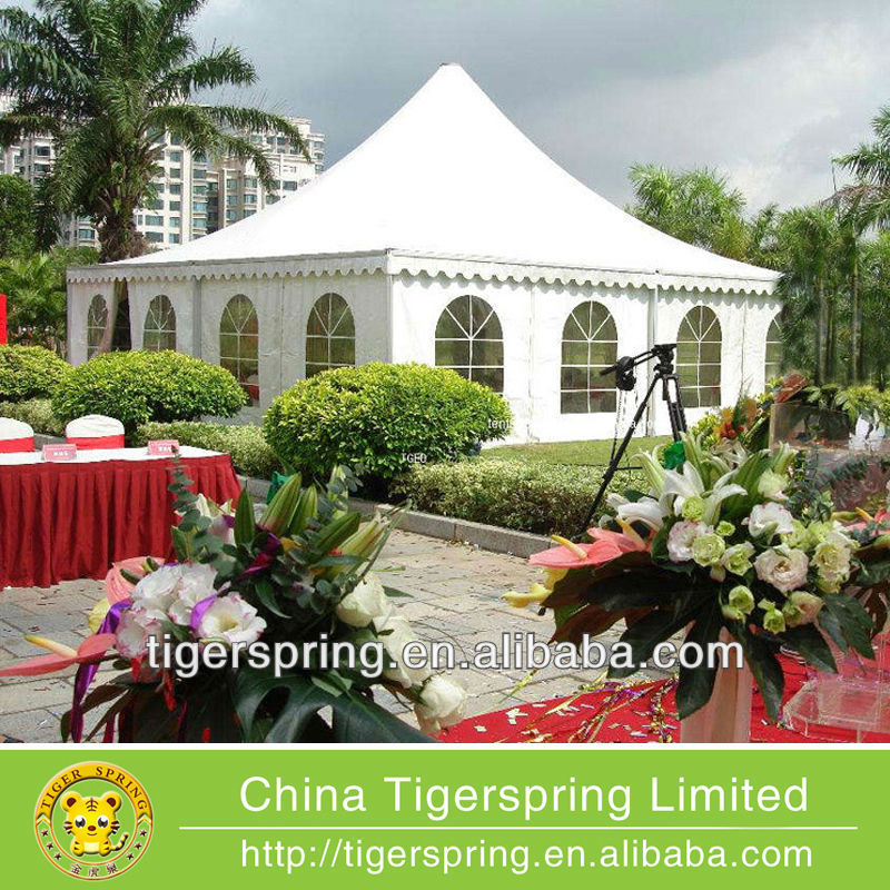 Popular high quality pagoda tent for wedding or party