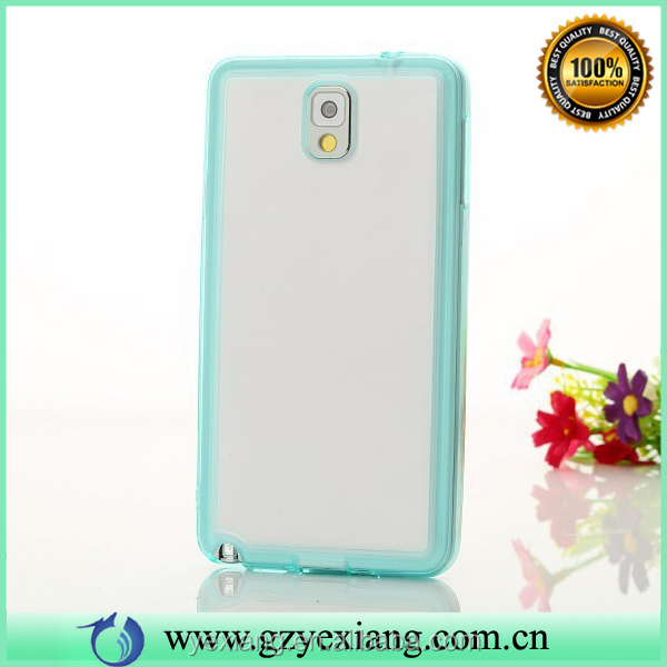 Alibaba Custom Cover Case For Samsung Galaxy Note 3 Soft TPU Frame