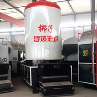 biomass pellet thermal oil generator boiler