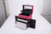 New Design Professional PU Leather Hand Carry Makeup Box/Hard Makeup case OEM