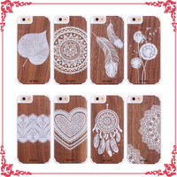 New design laser engrave custom cool mobile phone case cover