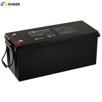 CSPOWER 12V 180Ah dry Cell battery for solar panel system