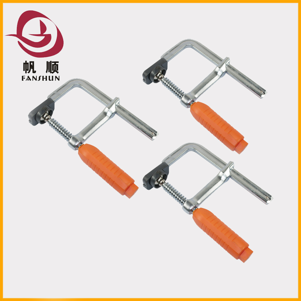 2016 heavy duty steel bar clamp f clamp wood working woodworking equipment