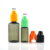 High quality smoke oil e-cig cosmetic colored 30ml PET e liquid plastic dropper bottle with childproof cap