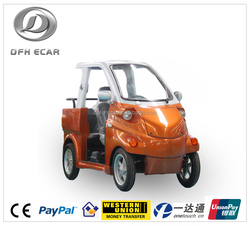 CE approved max speed 45 km eco hooper mini electric car