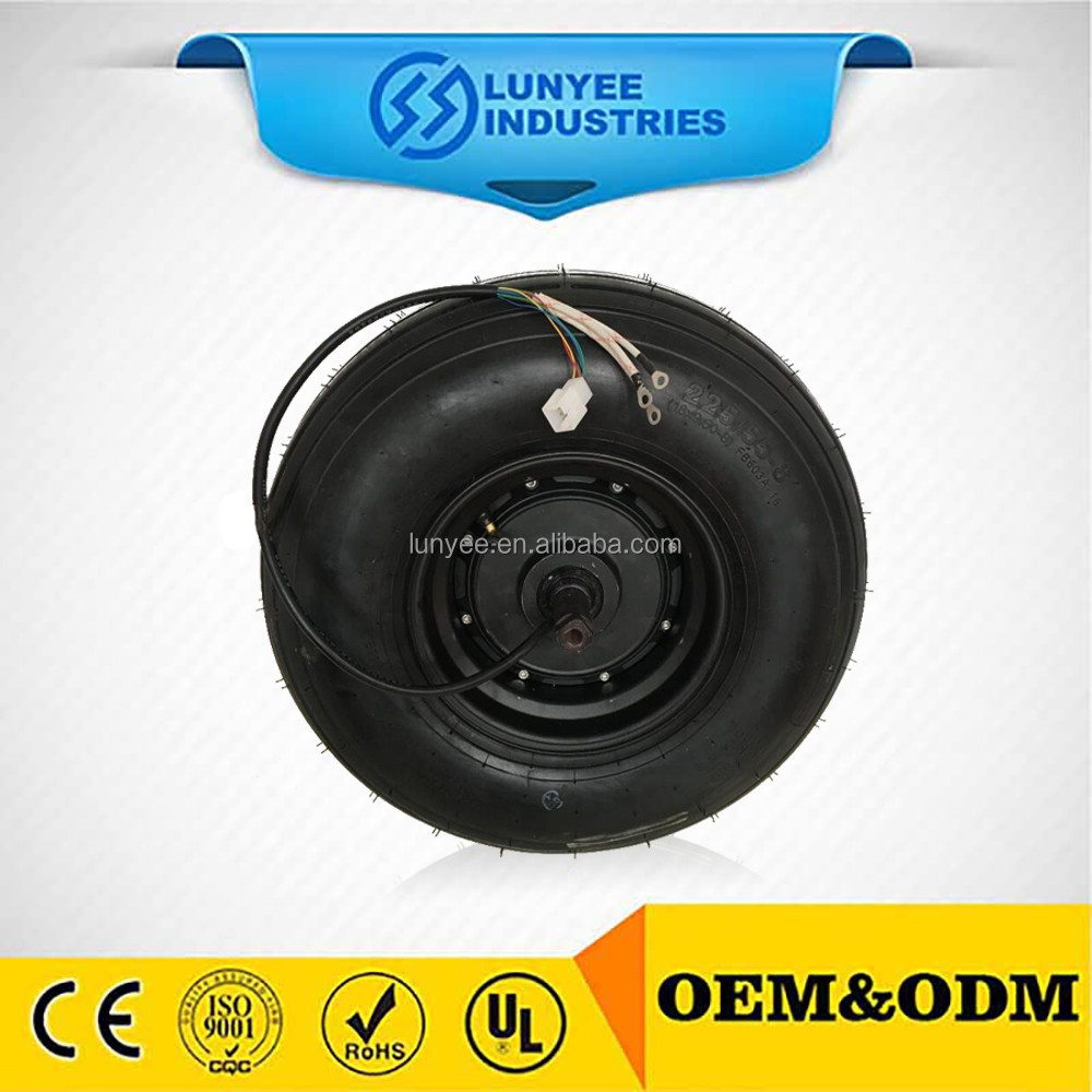 Fat Tyre Electric Motorcycle Hub Motor 48v 1000w