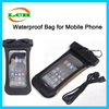 Hot selling summer underwater diving and simming hiking waterproof phone bag case for iphone 6
