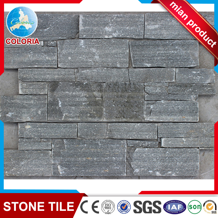Hebei cyan stone like surface cement culture stone for wall decoration