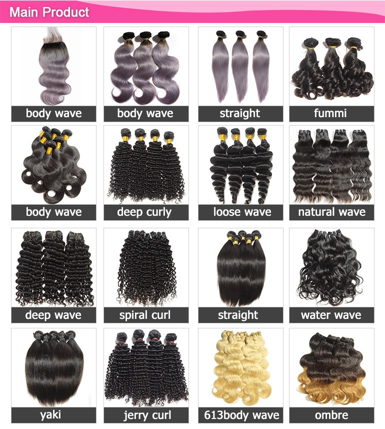 China wholesale all textures available shedding & tangle free mink unprocessed 7a grade virgin brazilian hair