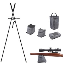 Shooting Accessories, Shooting Stick, Bench Rest Bag for Long Range Rifle Hunting Shooting