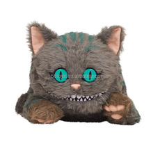 cute custom super soft plush big eyes cat toys