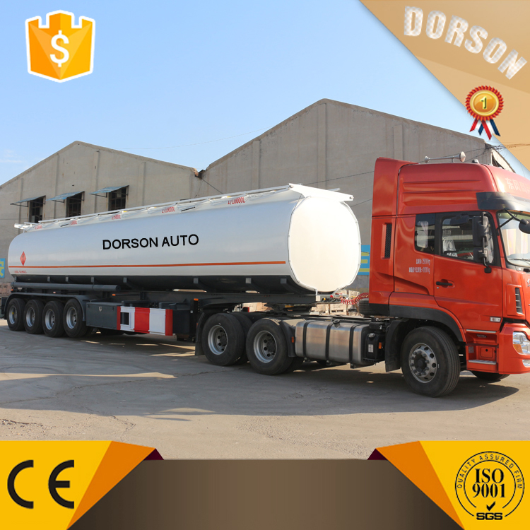 Used Gas Cylinder Trailer Oil Tank Trailer With Pump