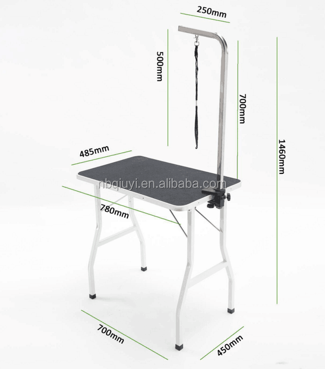 veterinary hospital stainless steel pet dog grooming table