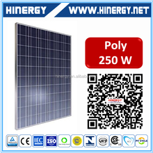 High power efficiency Polycrystalline 500 watt solar panel