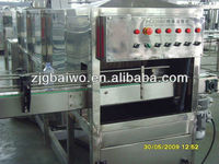 continuous type tunnel pasteurizer for beer