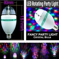 Party LED Full Color Rotating Disco Ball Lamp