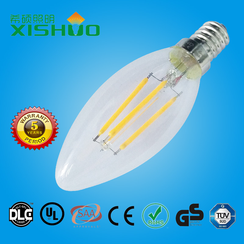 Cheap low price high quality ul approved led light bulbs 3 watt led bulb carbon filament global lamp