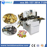 TKH052 CHOCOLATE COIN PACKING AND CUTTING MACHINE
