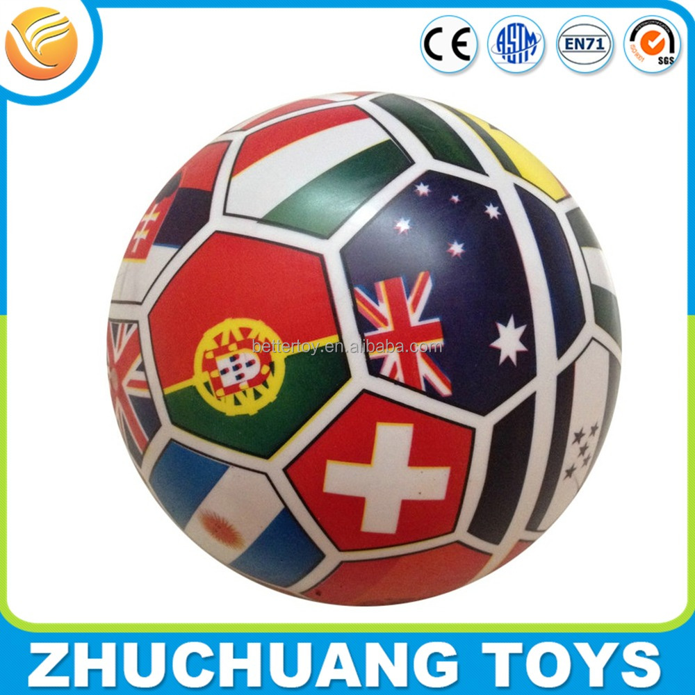 buy cheap colorful pvc inflatable soccer balls in bulk