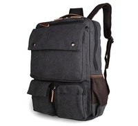 Extra Large Backpacks Rucksack Canvas Laptop Backpack Bag # 9022A