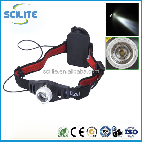 High Power 3W C REE Led Headlight Zoomable Q5 flashlight headlamp