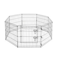 Metal Folding Wire Rabbit Fence Dog Playpen